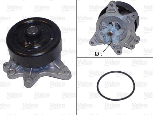 Pompe à eau - VALEO - 506844