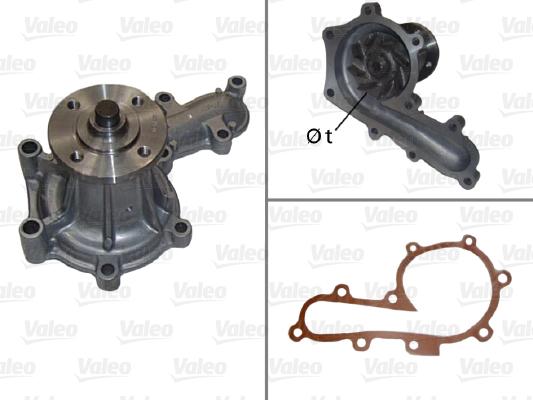 Pompe à eau - VALEO - 506847