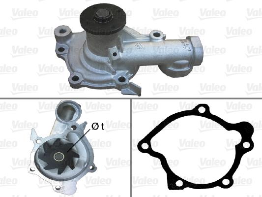 Pompe à eau - VALEO - 506857