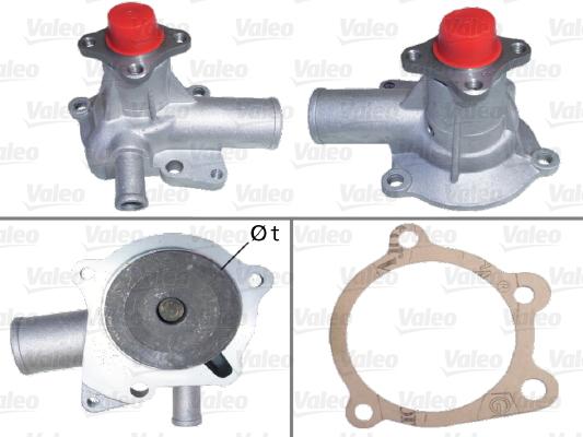 Pompe à eau - VALEO - 506858