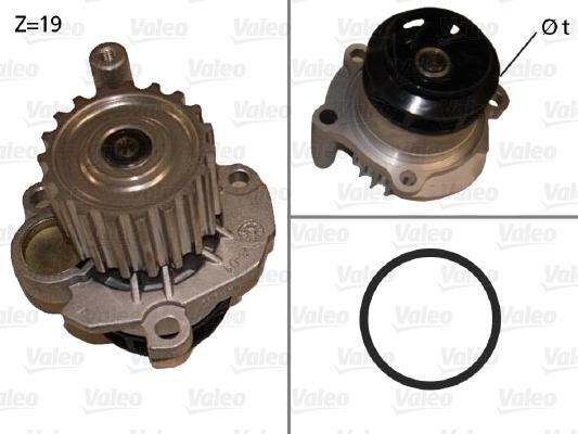 Pompe à eau - VALEO - 506873