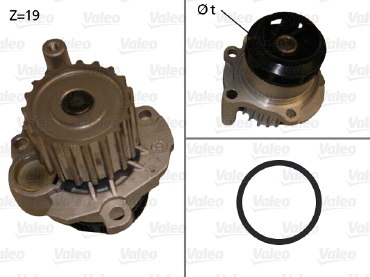 Pompe à eau - VALEO - 506874