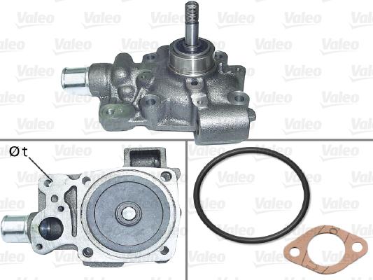 Pompe à eau - VALEO - 506879