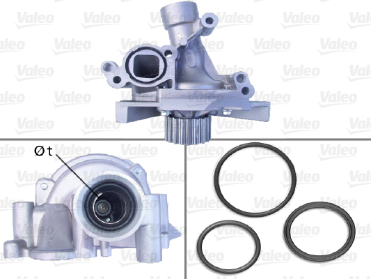 Pompe à eau - VALEO - 506918