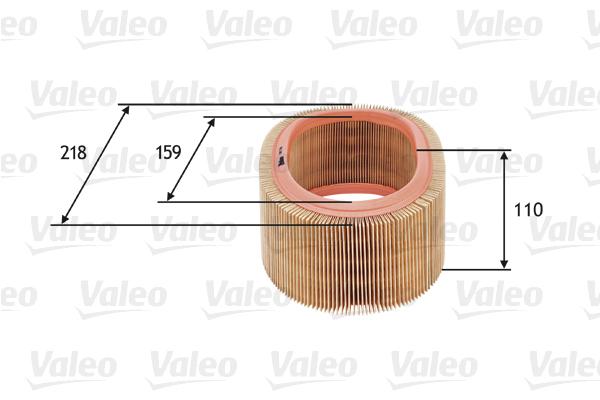 Filtre à air - VALEO - 585718