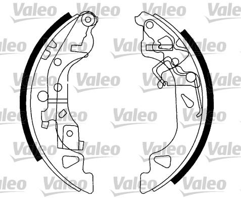 Kit de freins, freins à tambours - VALEO - 554811