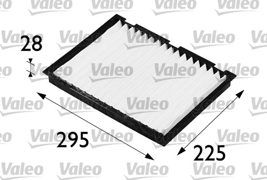 Filtre, air de l'habitacle - VALEO - 698159