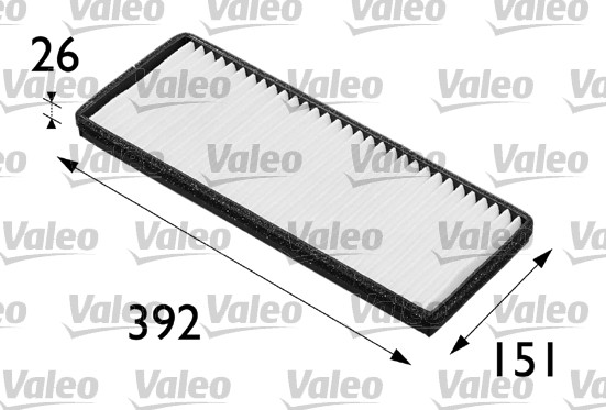 Filtre, air de l'habitacle - VALEO - 698164