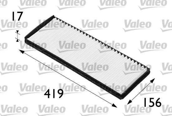 Filtre, air de l'habitacle - VALEO - 698165