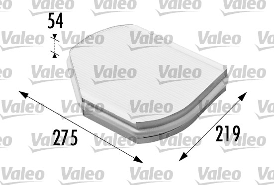 Filtre, air de l'habitacle - VALEO - 698169