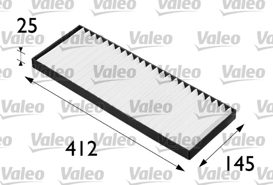 Filtre, air de l'habitacle - VALEO - 698202