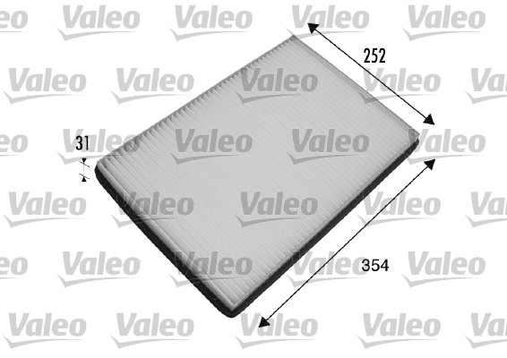 Filtre, air de l'habitacle - VALEO - 698475