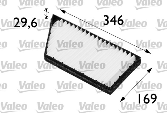 Filtre, air de l'habitacle - VALEO - 698488