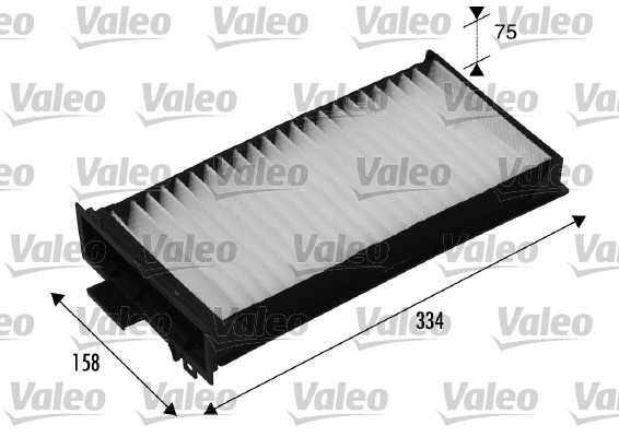 Filtre, air de l'habitacle - VALEO - 698540
