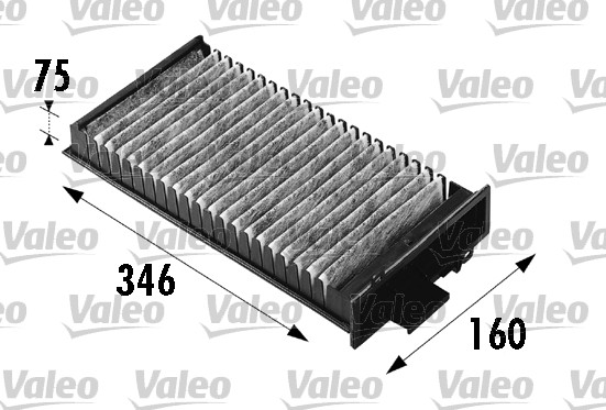 Filtre, air de l'habitacle - VALEO - 698541