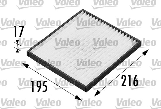 Filtre, air de l'habitacle - VALEO - 698681