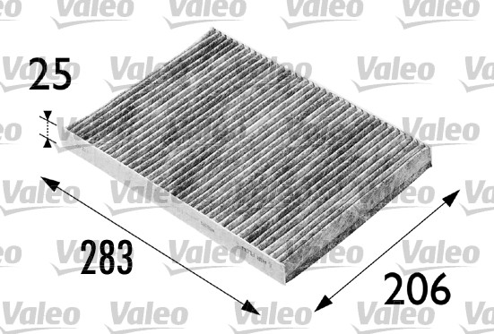 Filtre, air de l'habitacle - VALEO - 698686