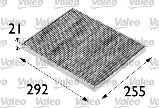 Filtre, air de l'habitacle - VALEO - 698688