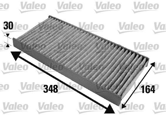 Filtre, air de l'habitacle - VALEO - 698695