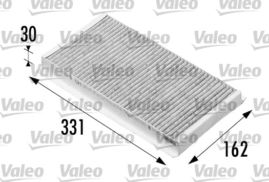 Filtre, air de l'habitacle - VALEO - 698710