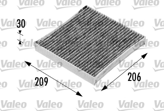 Filtre, air de l'habitacle - VALEO - 698715
