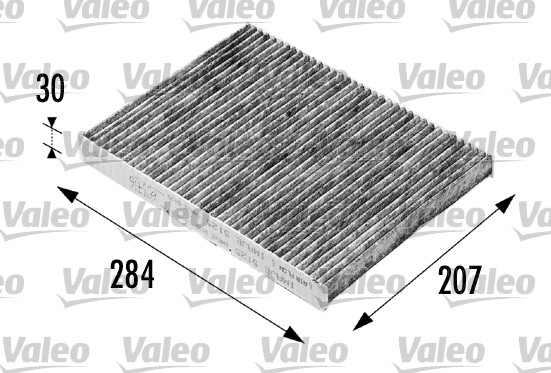 Filtre, air de l'habitacle - VALEO - 698716