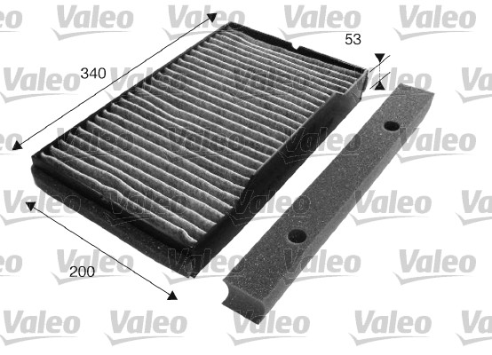 Filtre, air de l'habitacle - VALEO - 698723