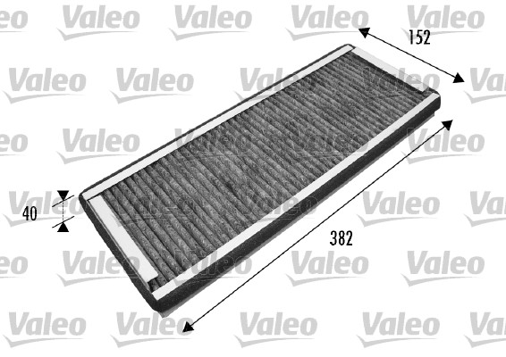 Filtre, air de l'habitacle - VALEO - 698737