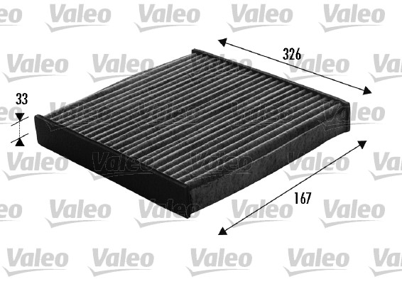 Filtre, air de l'habitacle - VALEO - 698748