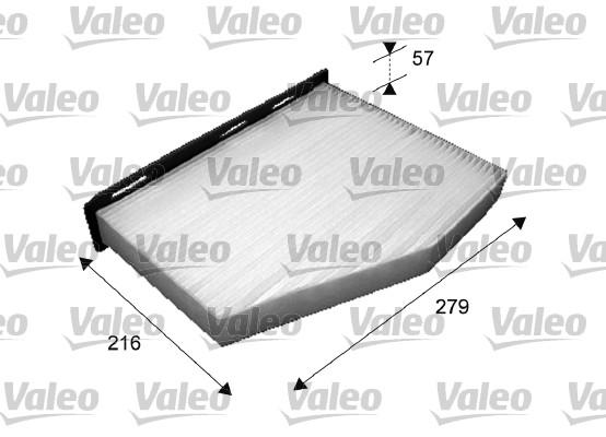 Filtre, air de l'habitacle - VALEO - 698800