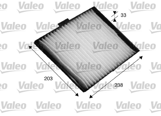 Filtre, air de l'habitacle - VALEO - 698819