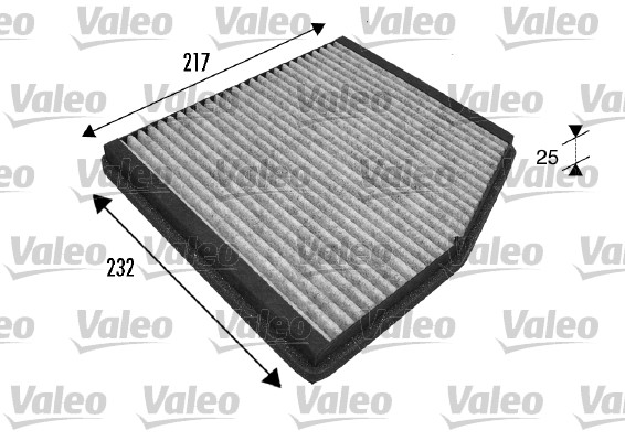 Filtre, air de l'habitacle - VALEO - 698839