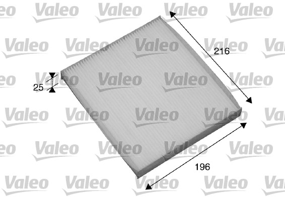 Filtre, air de l'habitacle - VALEO - 698870