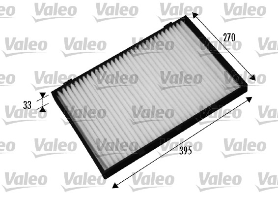 Filtre, air de l'habitacle - VALEO - 698879