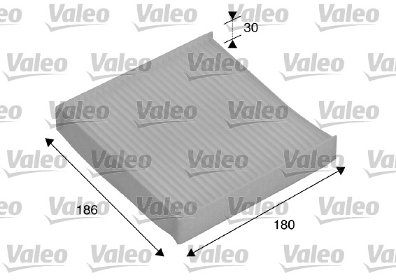 Filtre, air de l'habitacle - VALEO - 698886