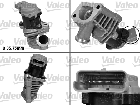 Vanne AGR - VALEO - 700408