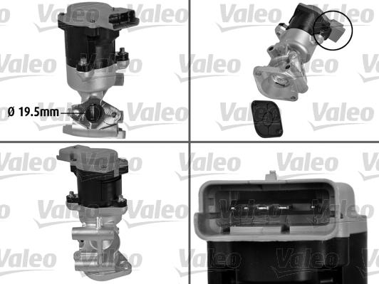 Vanne AGR - VALEO - 700410