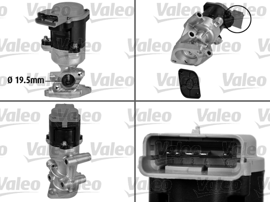 Vanne AGR - VALEO - 700411