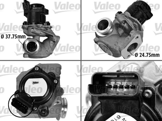 Vanne AGR - VALEO - 700413