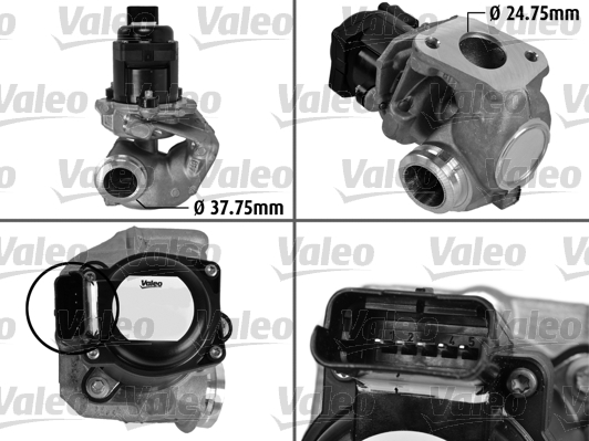 Vanne AGR - VALEO - 700414