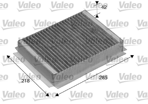 Filtre, air de l'habitacle - VALEO - 715504