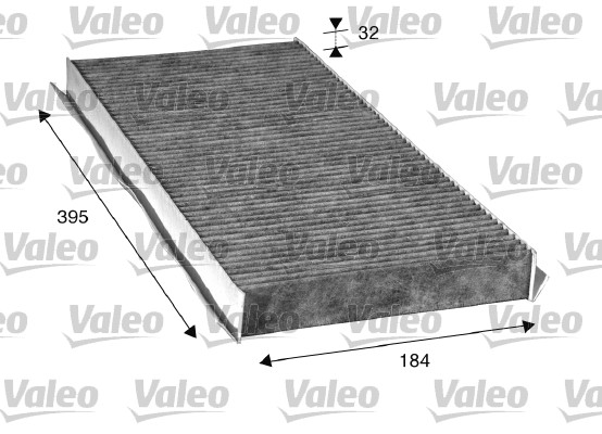 Filtre, air de l'habitacle - VALEO - 715507