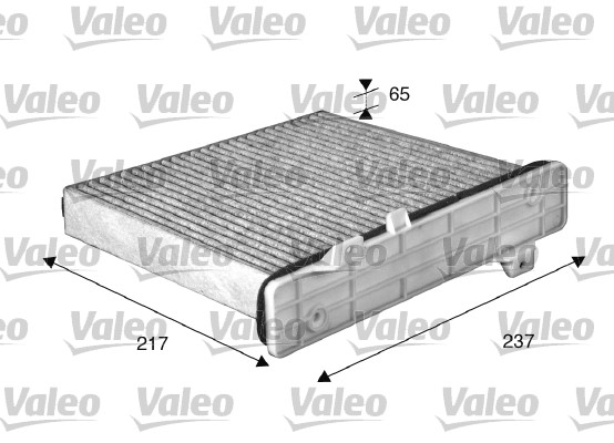 Filtre, air de l'habitacle - VALEO - 715509