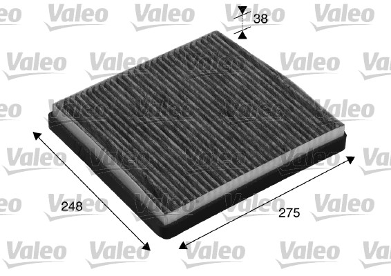 Filtre, air de l'habitacle - VALEO - 715512