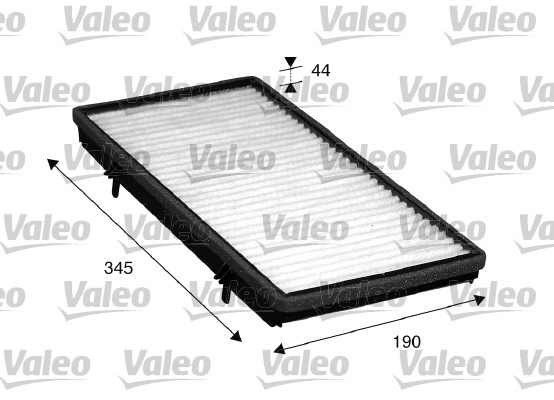 Filtre, air de l'habitacle - VALEO - 715513