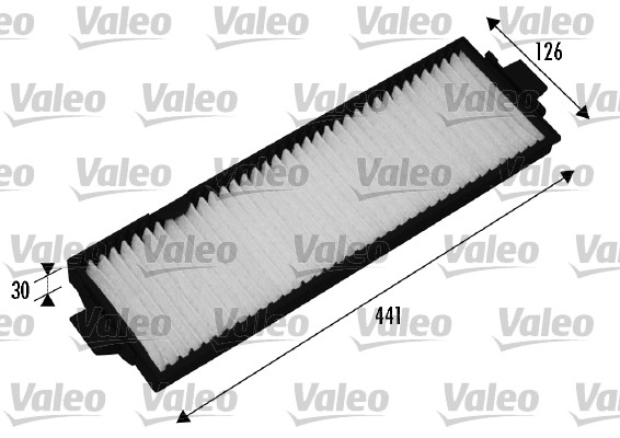 Filtre, air de l'habitacle - VALEO - 715514