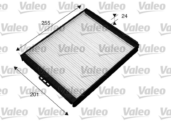 Filtre, air de l'habitacle - VALEO - 715516