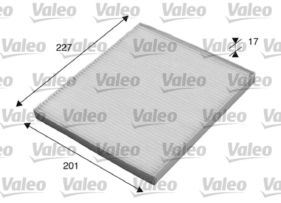 Filtre, air de l'habitacle - VALEO - 715521