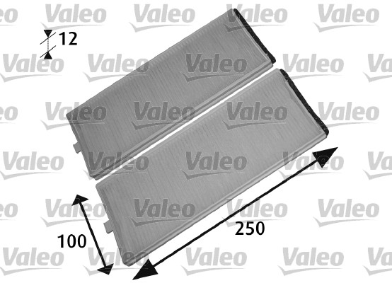 Filtre, air de l'habitacle - VALEO - 715525