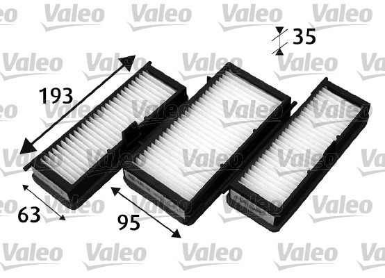 Filtre, air de l'habitacle - VALEO - 715530